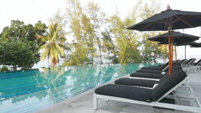 HD Umbrella chair pool