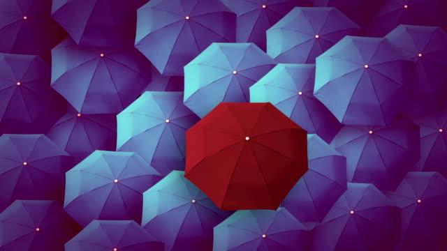 Regenschirm, Führer, einzigartige, boss, Individualität, original, besondere