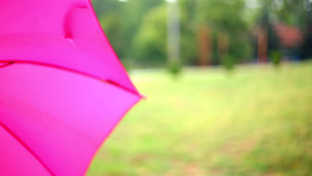 Paraplu draait