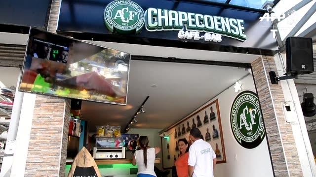 Un cafebar dedicado al Chapecoense abrio sus puertas en la ciudad colombiana de Medellin a inicios de febrero para honrar a las victimas del...