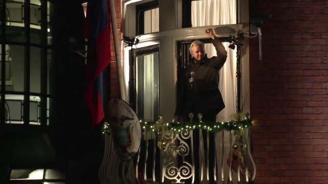 un comite legal de la onu pidio este viernes acabar con la detencion arbitraria de julian assange en la embajada de ecuador en londres y llamo al... - reino unido stock videos & royalty-free footage