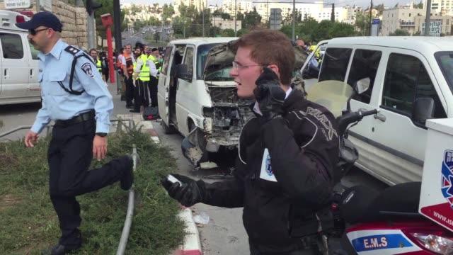 Un conductor mato a una persona e hirio a otras diez tras arrollarlas con su vehiculo en Jerusalen
