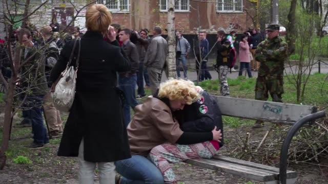 vídeos y material grabado en eventos de stock de un conocido periodista ucraniano prorruso oles buzina fue asesinado el jueves en kiev - jueves