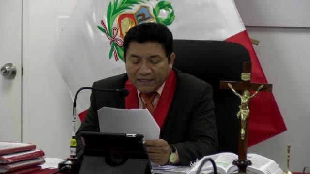 un tribunal peruano califico el miercoles de delito de lesa humanidad las violaciones sexuales sistematicas a nueve campesinas por parte de militares... - maoism stock videos & royalty-free footage