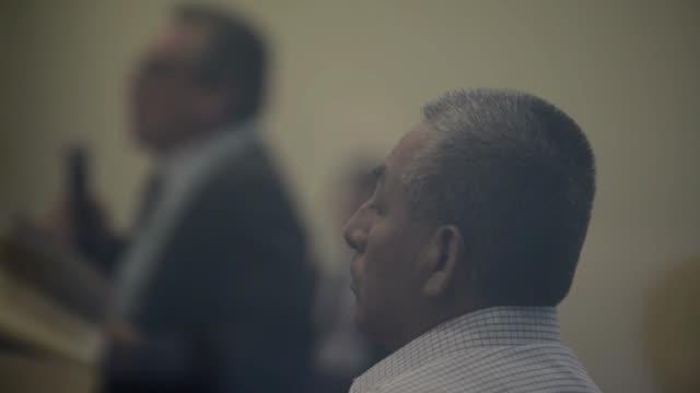 un tribunal peruano condeno este viernes a cadena perpetua a florencio flores hala camarada artemio ultimo lider historico de la guerrilla maoista... - terrorismo stock videos & royalty-free footage