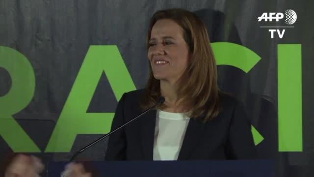 Una exprimera dama un senador y un gobernador seran los primeros candidatos presidenciales independientes en los comicios del 1 de julio en Mexico de...