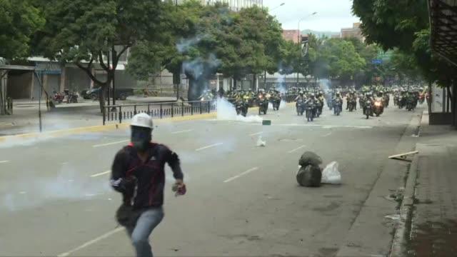 una ong de derechos humanos denuncio el martes la realizacion de 2997 arrestos durante las violentas protestas venezolanas que cumplen ya 60 dias... - acanthaceae stock videos & royalty-free footage