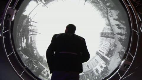 una retrospectiva de las creaciones de los hermanos lumiere en el grand palais de paris conmemora el 120 aniversario de la invencion del septimo arte - brother stock videos & royalty-free footage