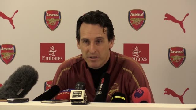 Unai Emery apologises to fan he kicked water bottle at and says Liverpool game will be 'good test' of who his team are at the press conference ahead...