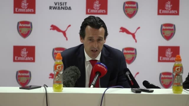 Unai Emery says his side lost a very big opportunity after losing 23 to Crystal Palace at home