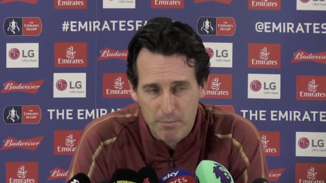 Unai Emery says the FA Cup is a good opportunity for Blackpool ahead of Arsenal's FA Cup third round tie at the League One club