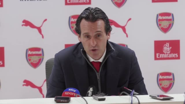 Unai Emery will switch his attention to achieving Europa League success after Arsenal's topfour hopes were all but dashed by Brighton