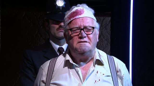 Uncut version of 'Loot' by playwright Joe Orton goes on stage in London for first time ENGLAND London Finsbury Park INT Various of actors performing...