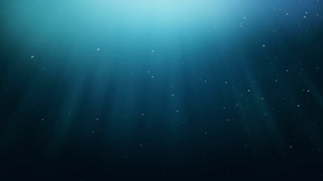 under the sea of bubbles and rays - depth marker stock videos & royalty-free footage