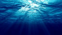 Under water sun light