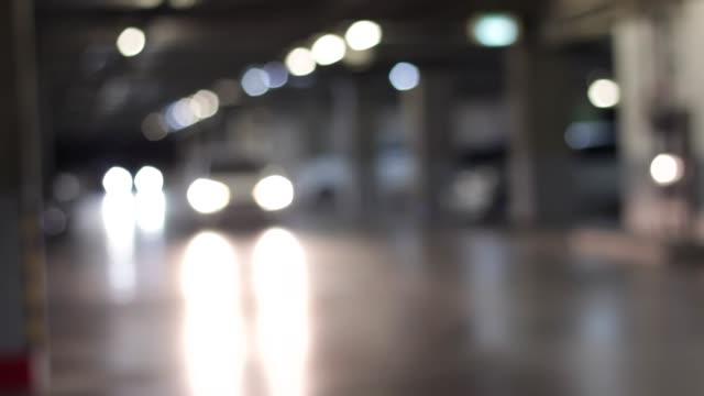 underground parking lot - multi storey stock videos & royalty-free footage