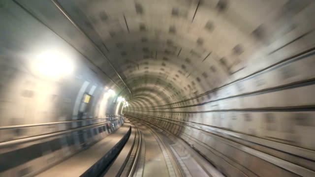 underground railway - tunnel stock videos & royalty-free footage
