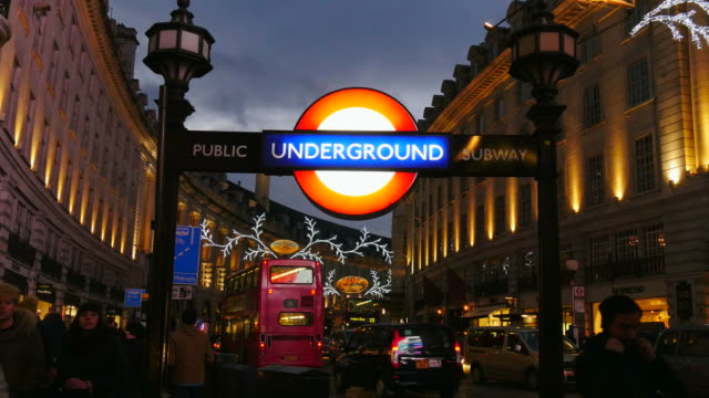 Underground Station Piccadilly Circus, London, England, Great Britain