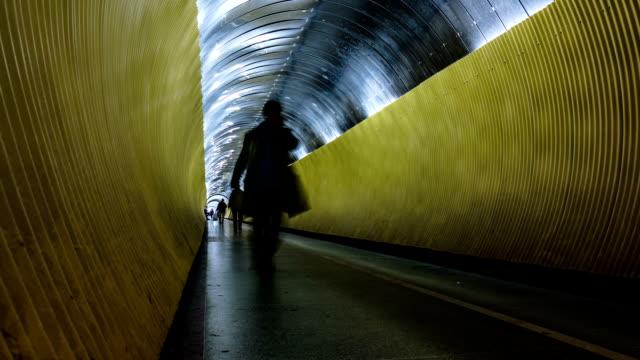 underground walkway time lapse - stockholm bildbanksvideor och videomaterial från bakom kulisserna
