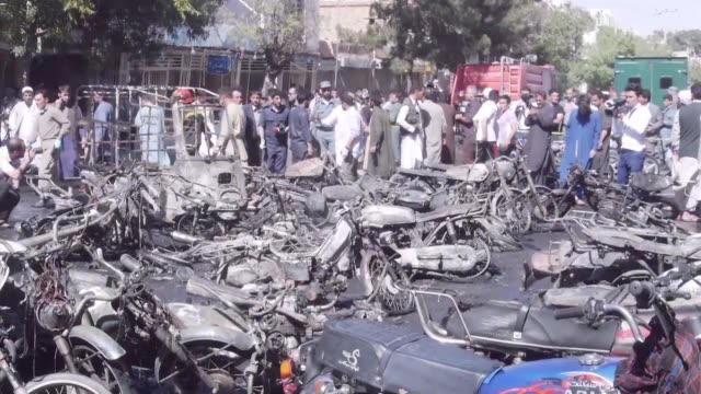 underscoring the growing insecurity in afghanistan a motorcycle bomb exploded near the grand mosque in the western city of herat killing seven people... - grand mosque stock videos and b-roll footage