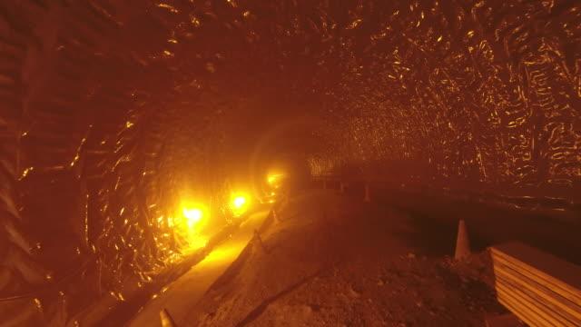 undersea tunnel construction in progress / dangjin-si, chungcheongnam-do, south korea - tunnel stock videos & royalty-free footage