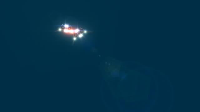 クラフトフライバイ水中 - 探求点の映像素材/bロール