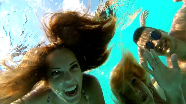 Underwater fun.