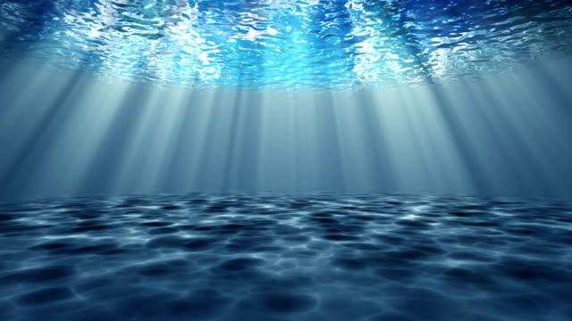underwater ocean waves and seabed - sea life stock videos & royalty-free footage