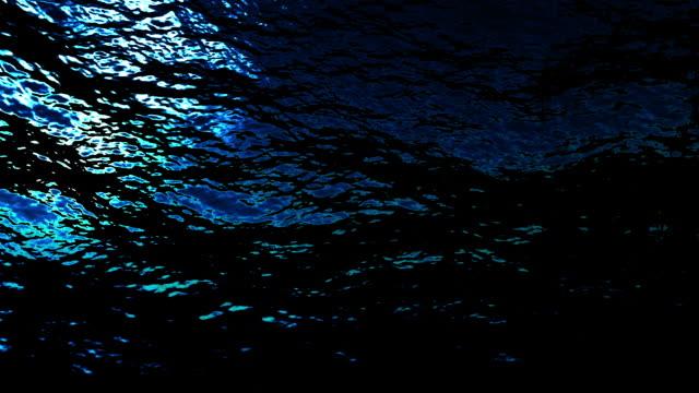 Underwater ocean waves (Loop).