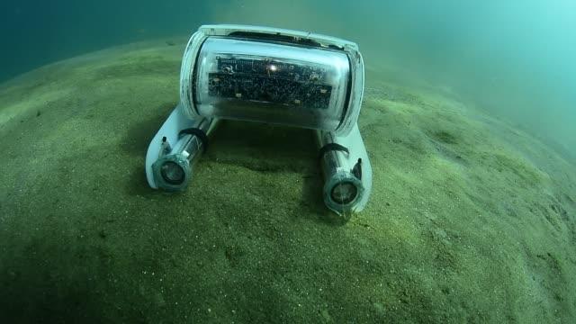 underwater rov. - mondo marino video stock e b–roll