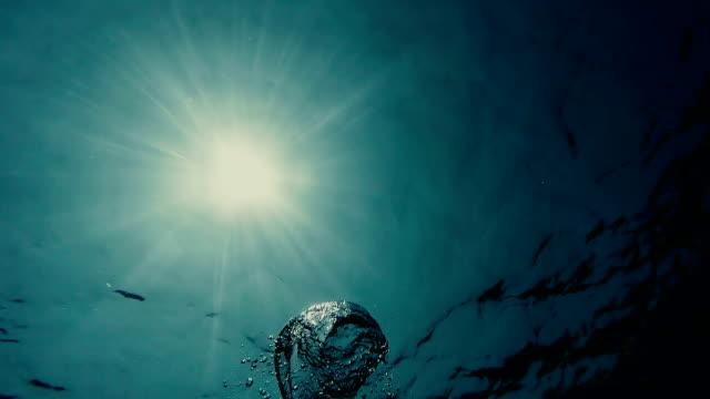 Underwater Sun