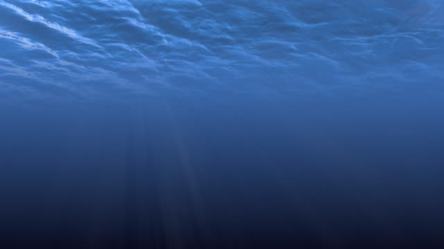 Underwater Sunbeams