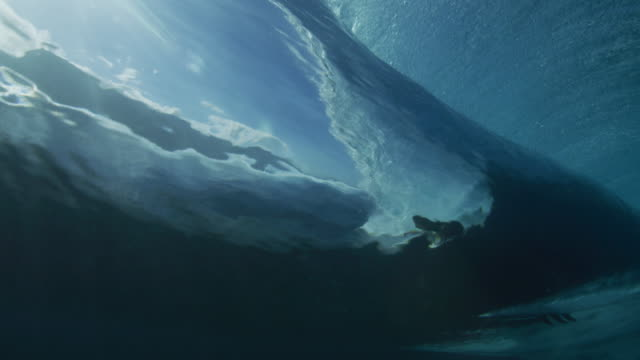 underwater surfer - underwater stock videos & royalty-free footage