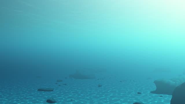 vídeos de stock e filmes b-roll de debaixo de água - ancora