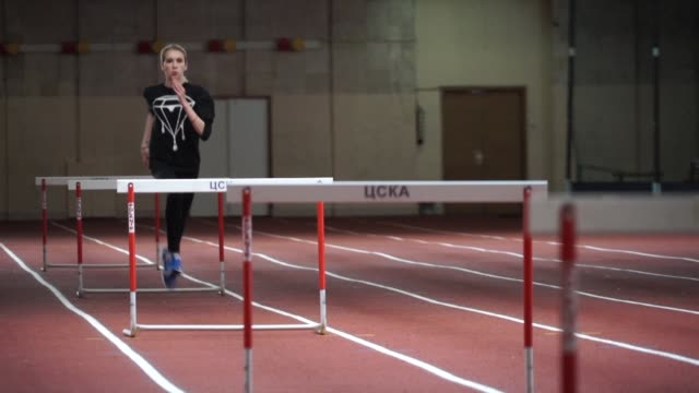 Undeterred by uncertainty ahead of the looming decision on Russias participation in Rio pole vault star Yelena Isinbayeva is relentlessly training...