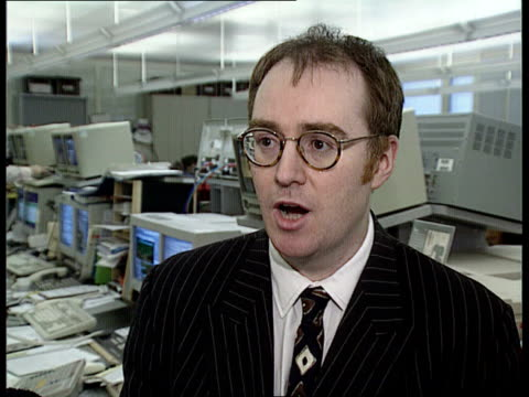 dkb cms gerard lyons intvw sot good news for uk economy is that inflation is low/ disappointing that growth is slowing down/ govt should respond by... - low unemployment stock videos & royalty-free footage