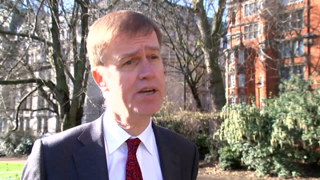 unemployment falls to seven year low london stephen timms mp interview sot reporter to camera/ vox pops/ - low unemployment stock videos & royalty-free footage