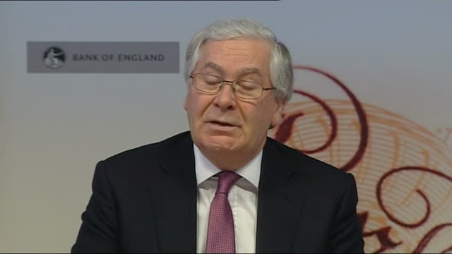 number of part-time workers reaches highest ever level; london: sir mervyn king and others at bank of england press conference reporter asking... - adjusting stock videos & royalty-free footage