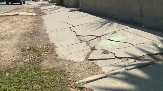 kswb uneven and broke sidewalks in san diego the city council voted 70 tuesday to have staff determine a timeline for fixing 85000 damaged sidewalk... - uneven stock videos & royalty-free footage