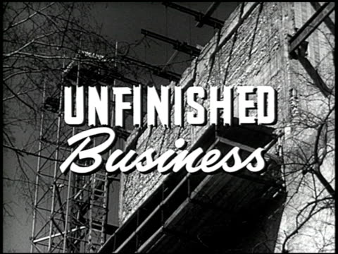 unfinished business - 1 of 19 - see other clips from this shoot 2507 stock videos & royalty-free footage