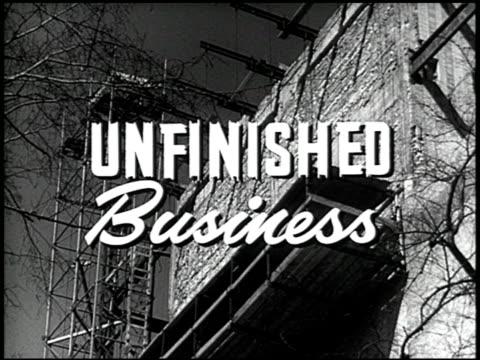vídeos de stock e filmes b-roll de unfinished business - 1 of 19 - veja outros clipes desta filmagem 2507