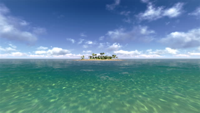 uninhabited islands - zoom in stock videos & royalty-free footage