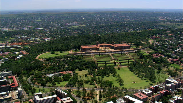Union Buildings  - Aerial View - Gauteng,  City of Tshwane Metropolitan Municipality,  City of Tshwane,  South Africa