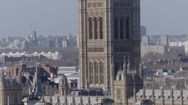 union jack flies over houses of parliament - new stock videos & royalty-free footage
