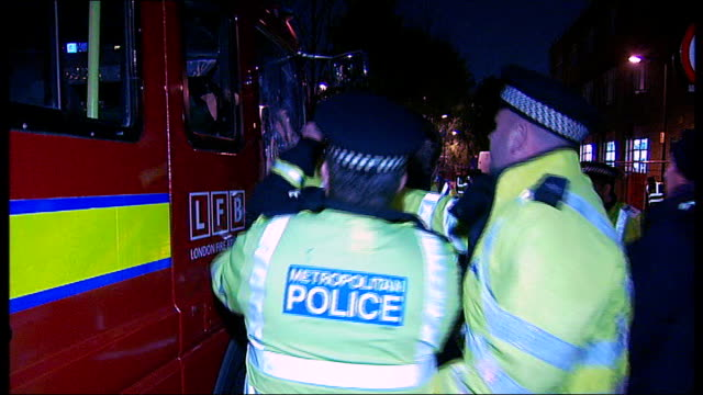 Union leaders and management expected to reach agreement over shift patterns dispute TX 2112010 ENGLAND London EXT / NIGHT Police officers and...