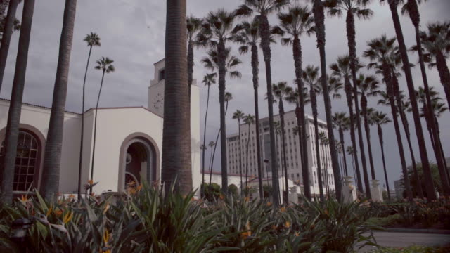 union station - los angeles - union station los angeles stock videos & royalty-free footage