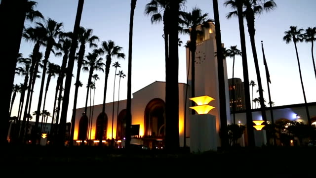 union station - union station los angeles stock videos and b-roll footage