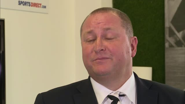 unions demand better terms and conditions for sports direct workers int hellawell speaking to members of the media pull out hellawel and ashley to... - helicopter rotors stock videos and b-roll footage
