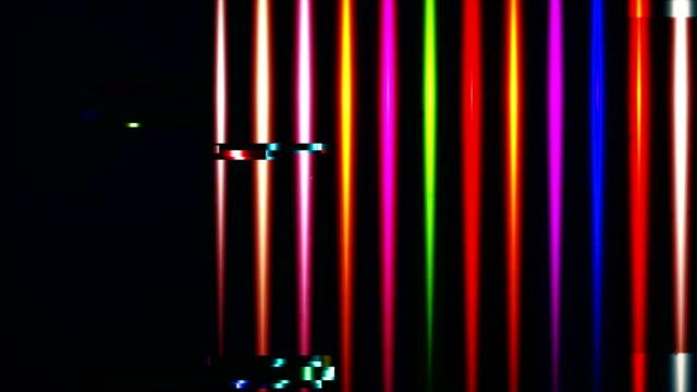 ユニークなデザイン抽象フレアデジタルアニメーションピクセルノイズグリッチエラービデオダメージ - 歪んだ点の映像素材/bロール