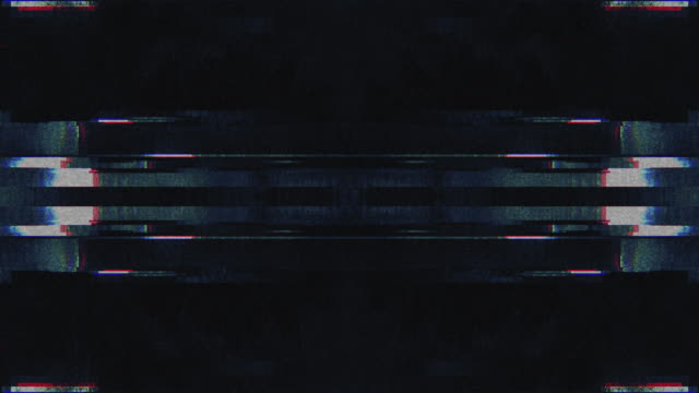 Unique Design Abstract Symmetry and Reflection Digital Pixel Noise Glitch Background